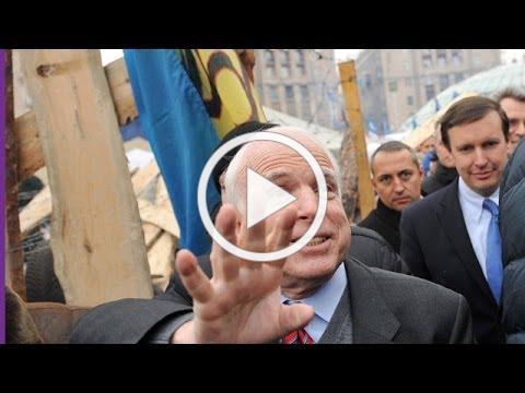 John McCain addresses Ukrainian protesters in Kiev