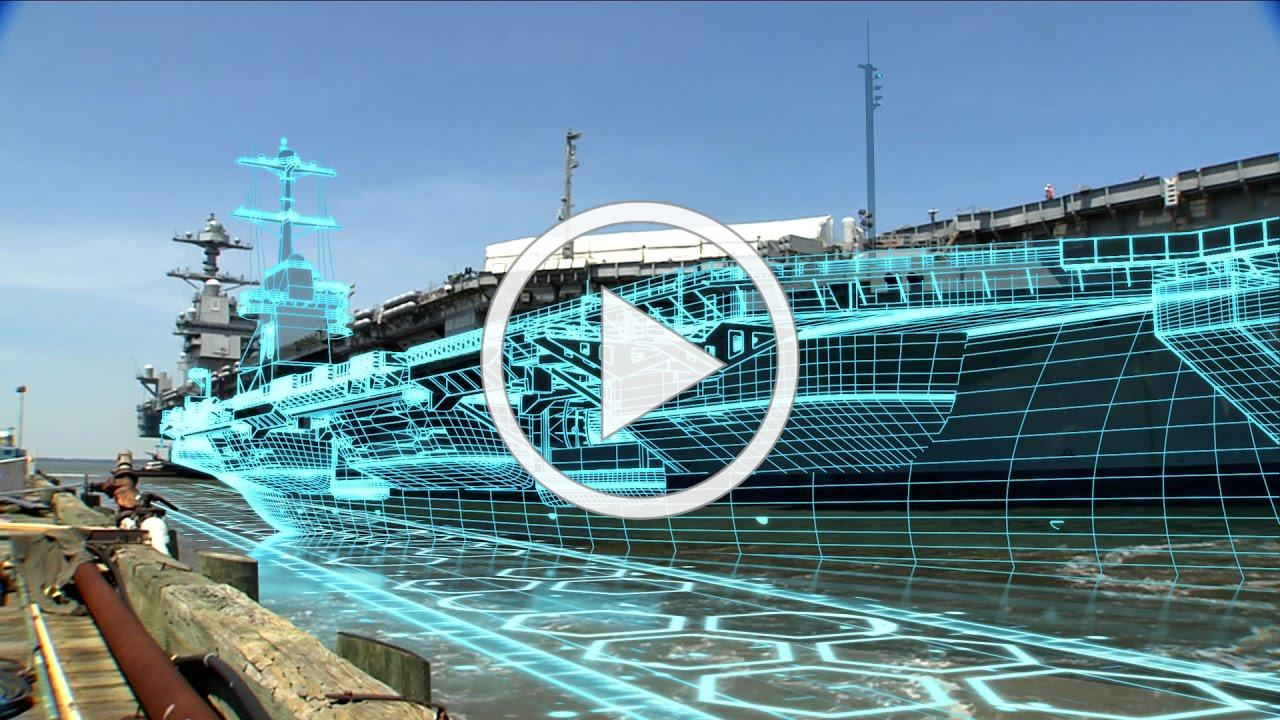 Newport News Shipbuilding launches the digital shipyard