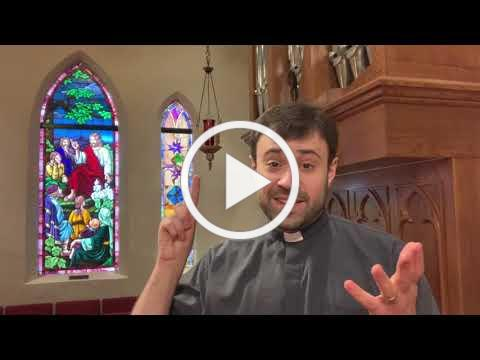 Children's Sermon for the Ascension of Our Lord - May 16
