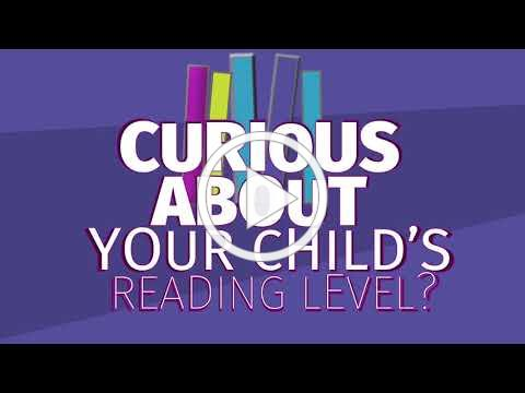 It's time for a Reading Checkup. Help your PreK-3rd grade child stay on track!