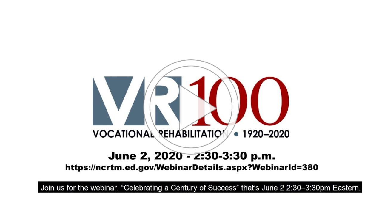 Trailer for VR100 Anniversary: Celebrating a Century of Success