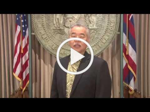 Remarks by Governor of Hawaii