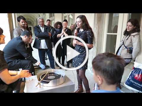 Plate Recorder | Liat Segal & Roy Maayan | Cluj Ceramics Biennale 2017 | Muzeul de Arta Cluj-Napoca