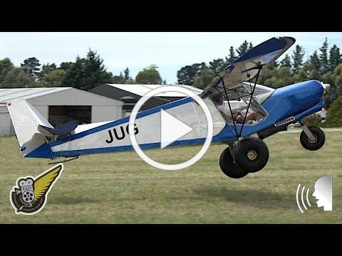Zenith CH 701 microlight -- STOL Takeoff's and Landings