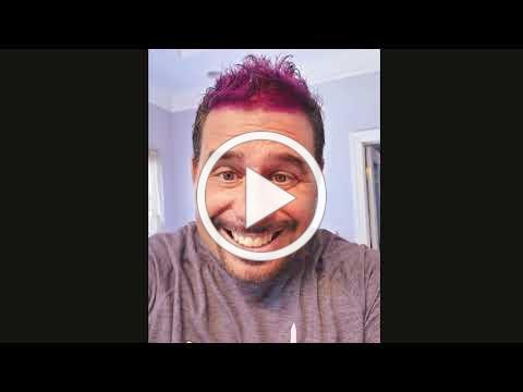 National Pancreas Foundation's CEO Dyes His Hair Purple