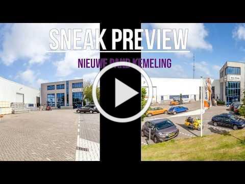 Sneak Preview nieuw pand Kemeling Kunststoffen 2018