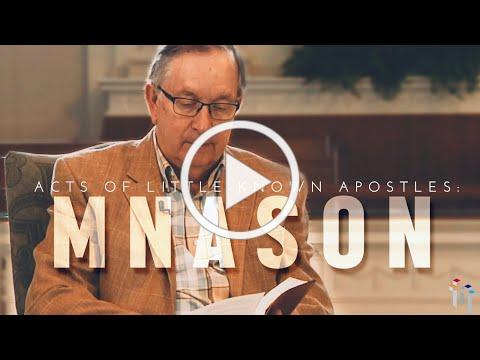 Acts of Little-Known Apostles: Mnason