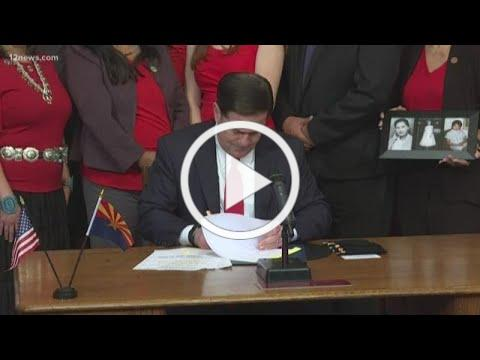 Governor Ducey signs bill for missing and murdered Indigenous women