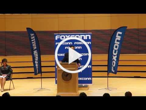 Foxconn Announcement at UW Parkside - May 10, 2018