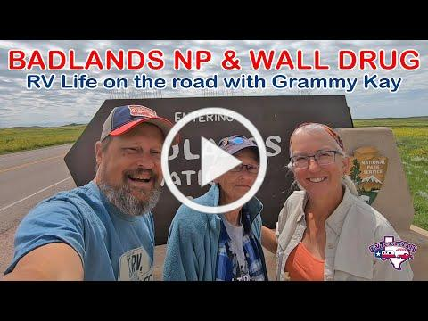 Badlands National Park, Wall Drug & More! | Full Time RV Life | RV America Y'all