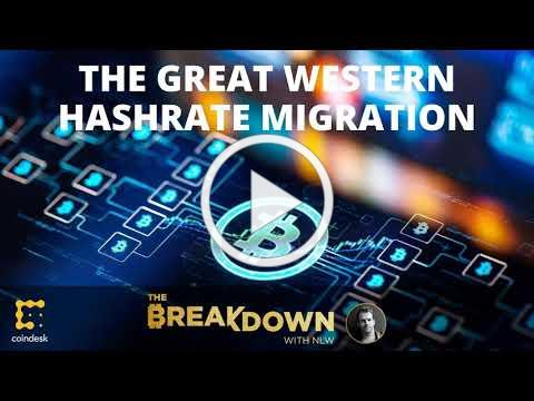 The Great Western Hashrate Migration Is Real