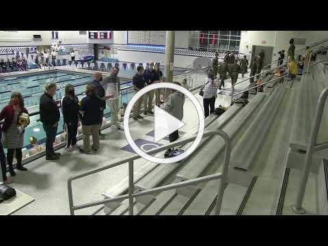 1/28/21 Swimming Senior Night Recognition