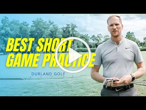 GOLF TIP | How To PRACTICE Your SHORT GAME