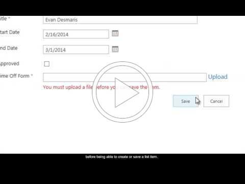 KWizCom File Upload Field Type introduction