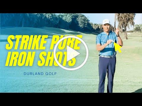 GOLF TIP   How To Strike PURE IRON SHOTS
