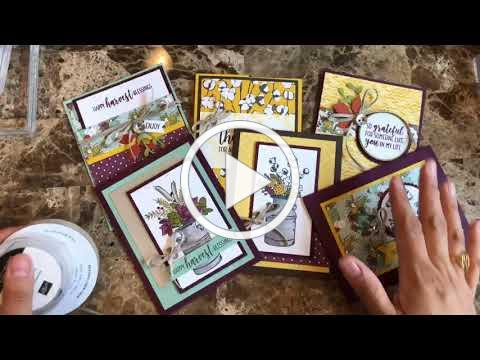 Country Home Card Class To-Go