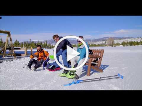 Eva All-Foam Snowshoes from Crescent Moon