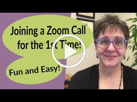 Joining a Zoom Call for the First Time; Fun and Easy Online Connection