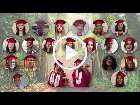Ballard High School Concert Choir - I'll Be On My Way, Graduation 2021