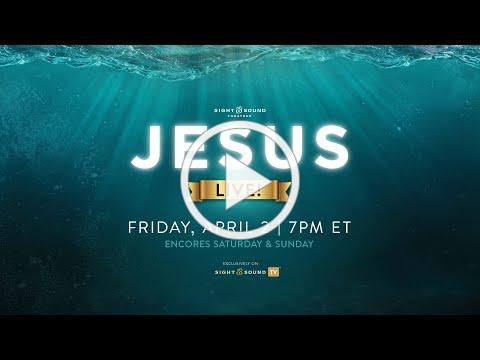 JESUS Special Live Broadcast - Easter Weekend Only - Official Trailer