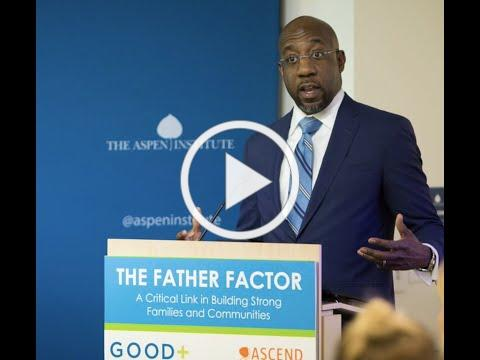 Reverend Dr. Raphael Warnock at The Father Factor: A Critical Link in Building Strong Families