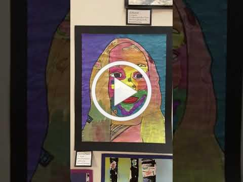 Cedarburg Cultural Center - Gallery of Student Art 2020 - Parkview Elementary School