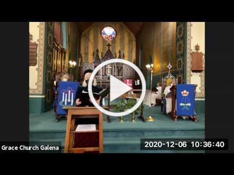 Grace Episcopal Church, Galena IL, 2 Advent 2020