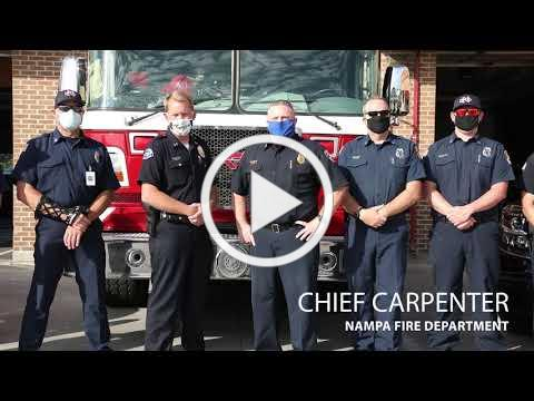 Nampa Police and Fire Message 07232020