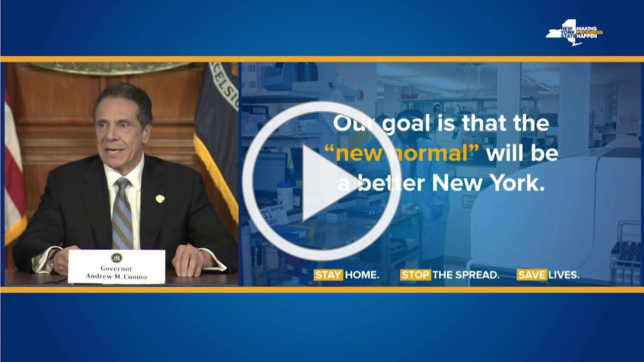 Governor Cuomo Announces 'NYS on PAUSE' Extended until May 15