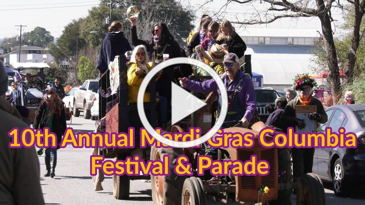 10th Annual Mardi Gras Columbia Festival & Parade