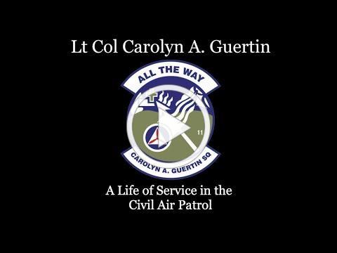 Lt Col Carolyn A. Guertin: A Life of Service in Civil Air Patrol