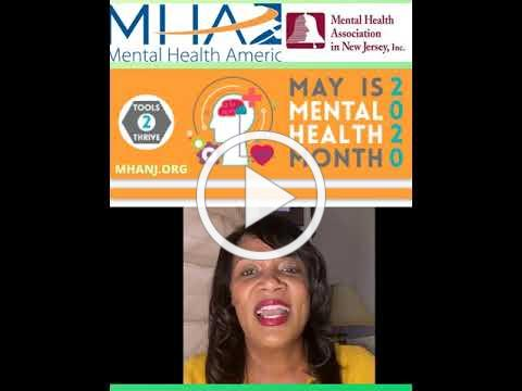 Mental Health Month -- Your Mental Health Matters Monday May 4, 2020