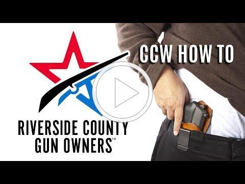 RCGO CCW How to
