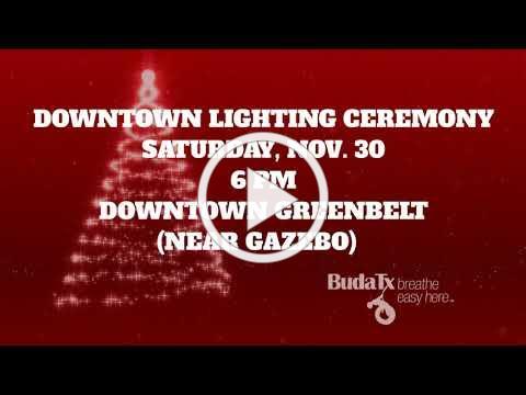 Downtown Lighting Ceremony - Saturday, Nov. 30