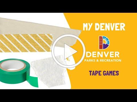Cheap Games: All you need is tape! | Denver Parks and Rec, MY Denver