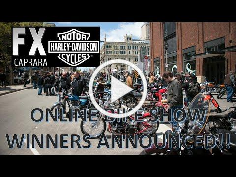 Winners Announce in FXCHD's Online Bike Show!