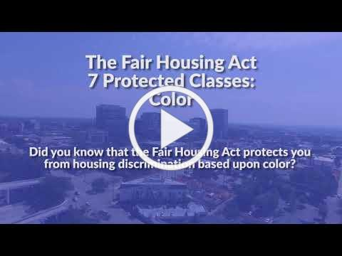 The Fair Housing Act Protected Classes: Color
