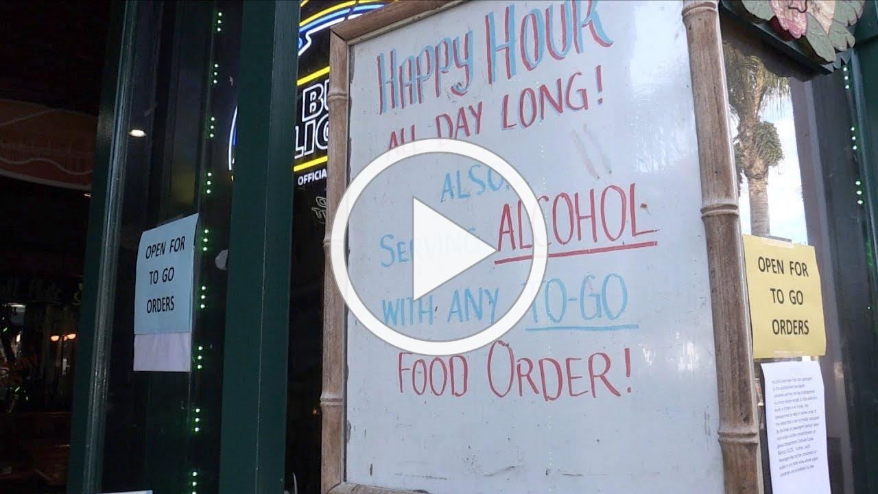 HB Residents can now get Alcohol with take food orders HB BIZ NEWS MARCH 31, 2020