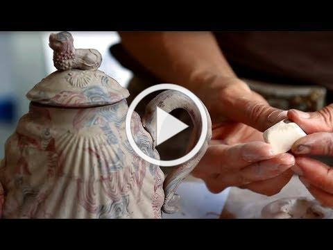 How was it made? An Agate Teapot
