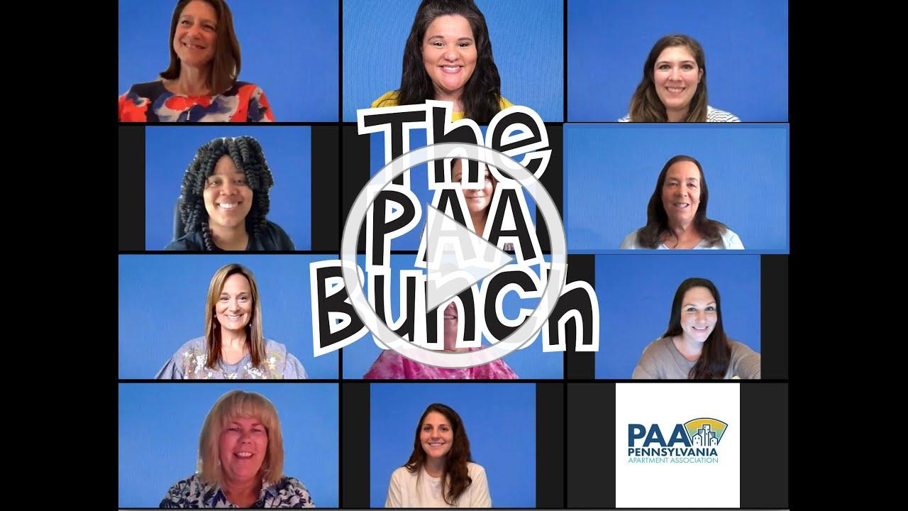 The PAA Bunch | The 2020 Unified Rendition