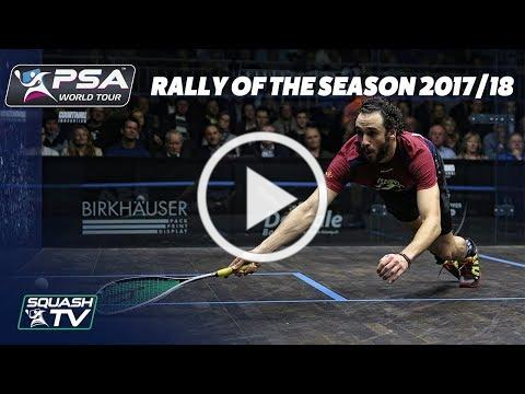 Squash: Rally of the Season 2017/18