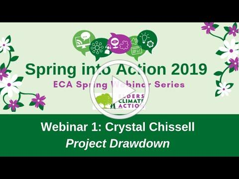 Spring Webinar Series: Crystal Chissell from Project Drawdown