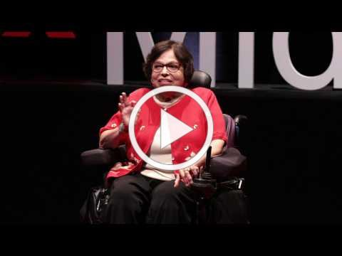 Our fight for disability rights and why we're not done yet | Judith Heumann | TEDxMidAtlantic