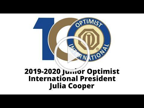 Greetings from JOI President Julia Cooper