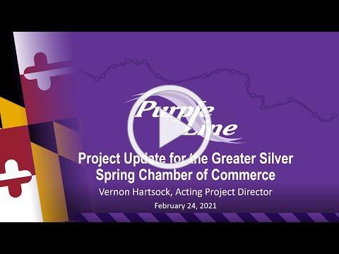 GSSCC Economic Development Committee Purple Line Update