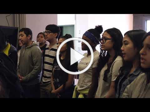 Voice Class in Young Artists Diploma Program: East Bay Center for the Performing Arts