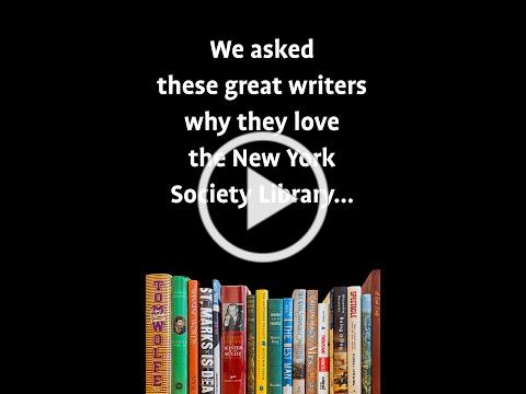 We asked these great writers why they love the Library...