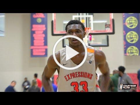 Top Ranked Sophomore Center Moussa Cisse Highlights From EYBL Indy!