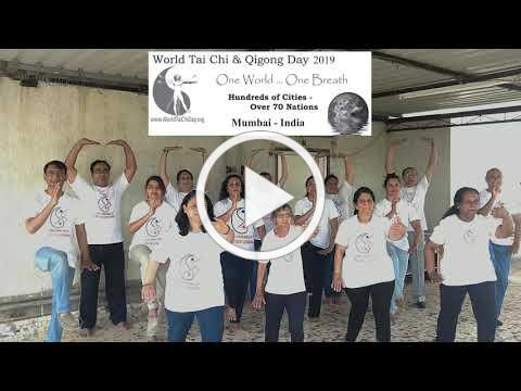 WORLD TAI CHI & QIGONG DAY 2019 , MUMBAI-INDIA