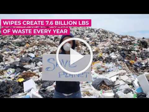 Wipes create waste. We don't. 🌎♻️ | The Original MakeUp Eraser